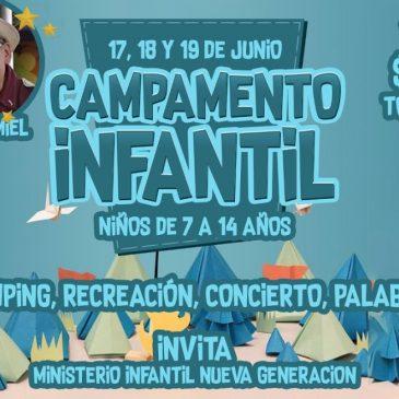 CAMPAMENTO INFANTIL SANANDO EL CORAZÓN DEL NIÑO – FLORENCIA
