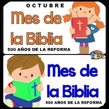 ACTIVIDADES ESPECIALES PARA EL MES DE LA BIBLIA.   DÍA DE LA BIBLIA