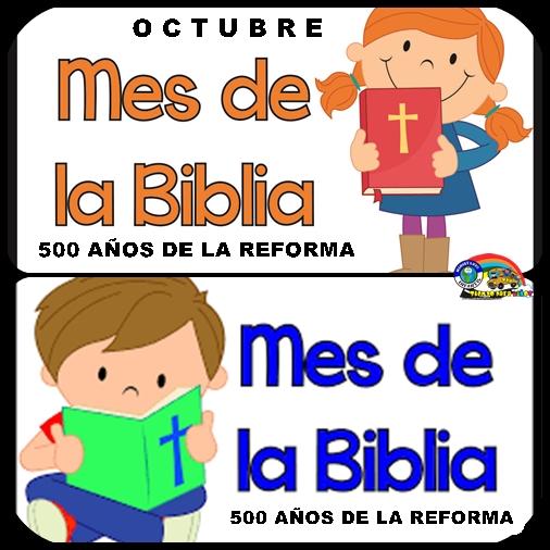 ACTIVIDADES ESPECIALES PARA EL MES DE LA BIBLIA. DÍA DE LA BIBLIA ...