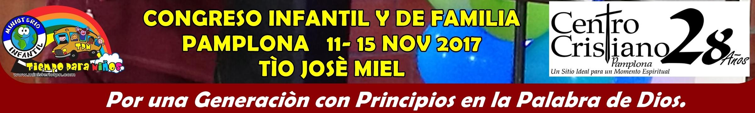 CONGRESO INFANTIL Y DE FAMILIA PAMPLONA 2017